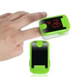 5x Finger Tip Pulse Oximeter Blood Oxygen One Button Operati