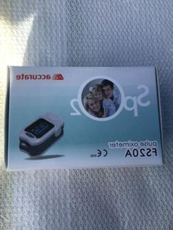 Accurate Fingertip Pulse Oximeter Blood Oxygen Saturation Mo