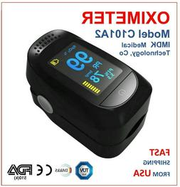 Advanced Finger Pulse Oximeter OLED Display with Perfusion I