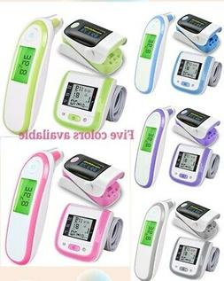 Baby Thermometer Pulse Oximeter Wrist Blood Pressure Monitor