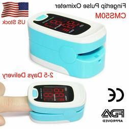 FDA Finger Tip Pulse Oximeter Blood Oxygen Saturation SPO2 H
