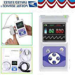 FDA Handheld Portable Pulse Oximeter Spo2 Pr Heart Rate Moni