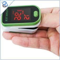 Finger Pulse Oximeter Blood Oxygen Saturation Monitor Bloodb
