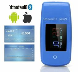 Finger Pulse Oximeter Blood Pressure Portable Bluetooth Hous