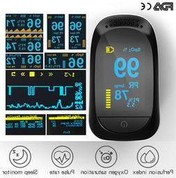 Finger Pulse Oximeter Heart Rate Spo2 Monitor Blood Oxygen M