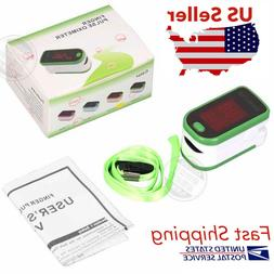 Finger Tip Pulse Oximeter Blood Oxygen meter SpO2 Heart Rate