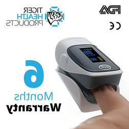 Fingertip Pulse Oximeter, Activity Tracker, Fitness and Acti