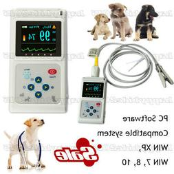 Handheld Veterinary Pulse Oximeter CMS60D-VET with Tongue Sp