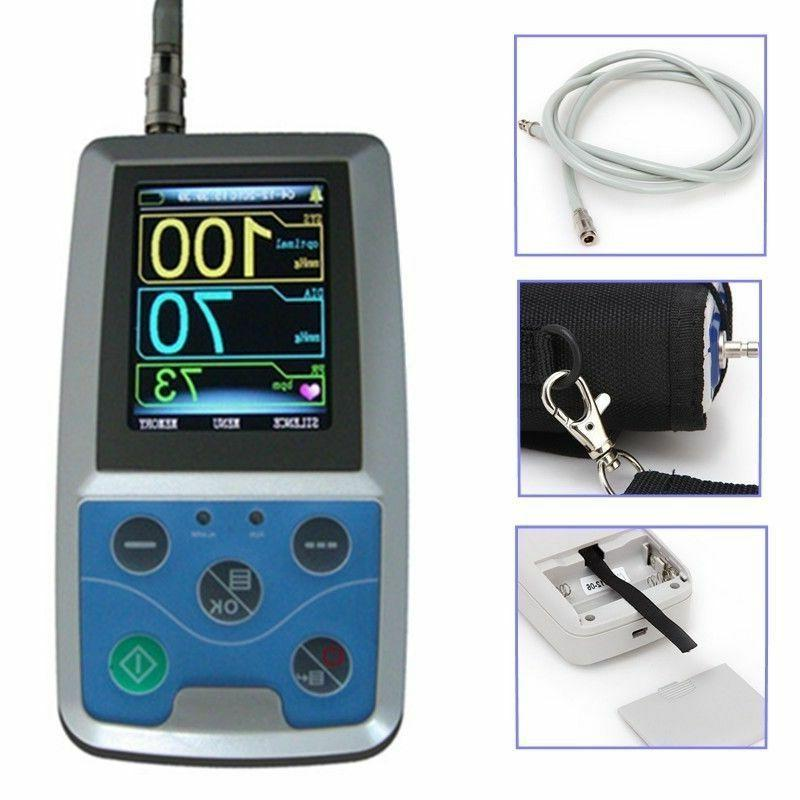 FDA Ambulatory Blood Pressure Patient Monitor 24h NIBP Holte