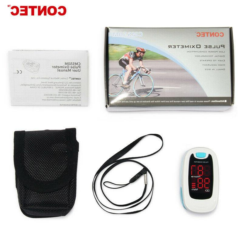 Oxygen Saturation Heart Rate Monitor,USA LED Display