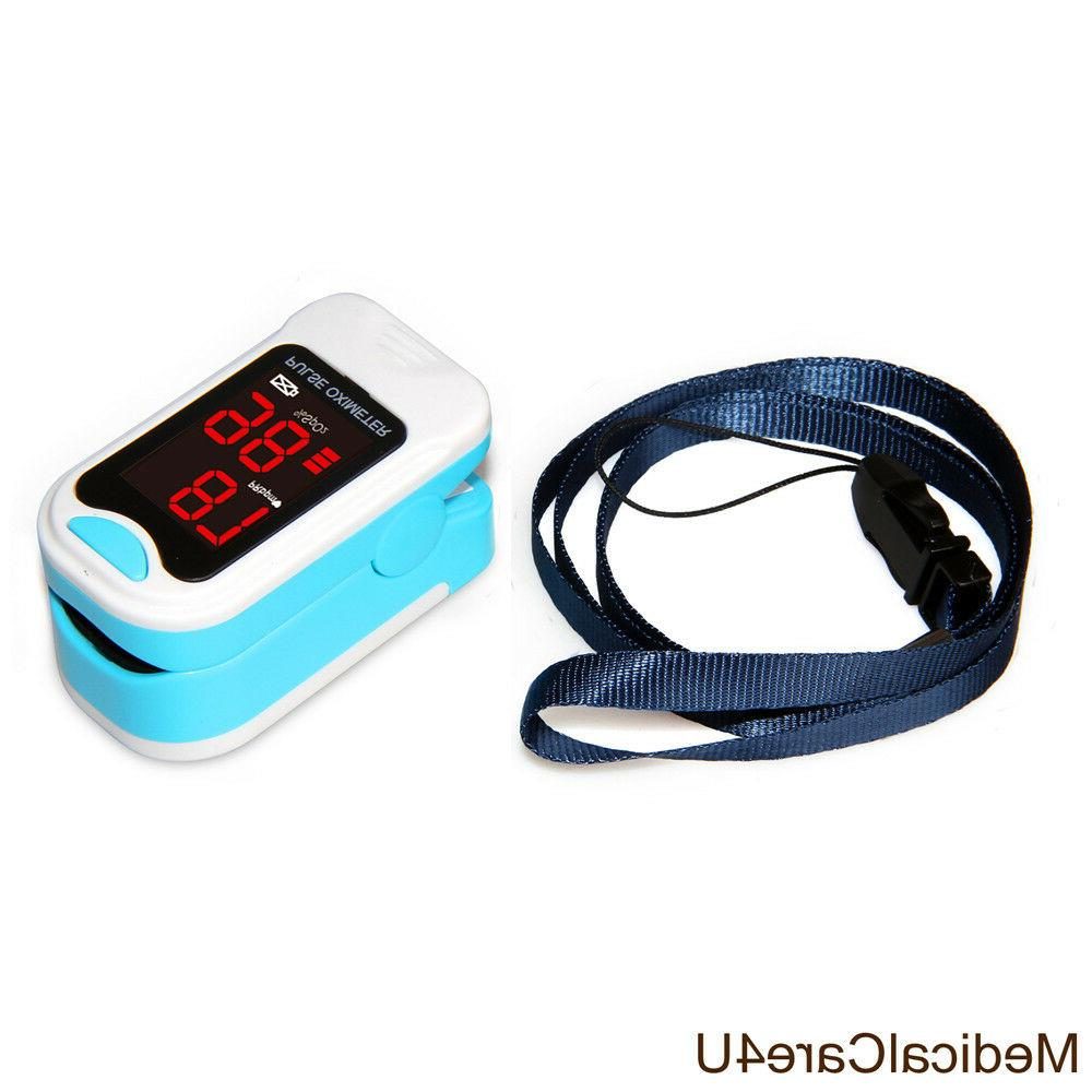 Finger Blood Monitor Heart Rate Monitor