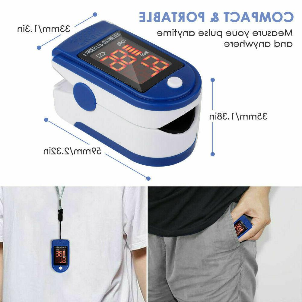 Pulse Blood Oxygen Saturation O2 Patient USA