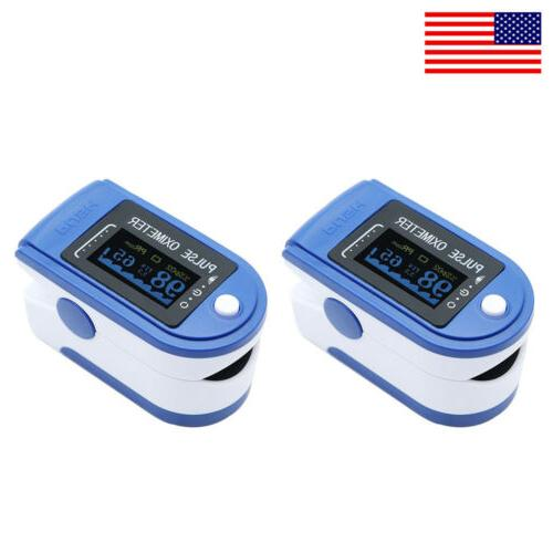 LED Blood Meter Monitor O2 Heart Rate Blood