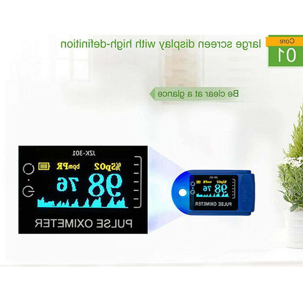 Heart Rate Monitor Blood Oxygen