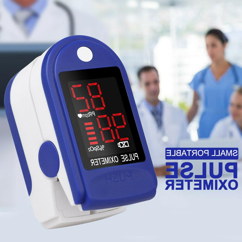 Pulse Blood Saturation Fingertip Heart Rate Monitor