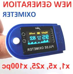 Finger Pulse Oximeter Blood Oxygen SpO2 Monitor, Index Perf