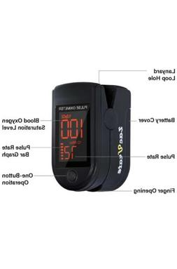 Zacurate Pro Series 500DL Fingertip Pulse Oximeter Blood Oxy