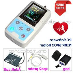 US seller,24hrs Ambulatory blood pressure monitor with pulse