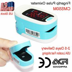 LED Finger tip Pulse Oximeter Blood Oxygen meter SpO2 Heart