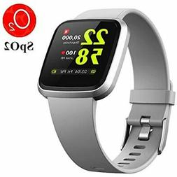 V12 Fitness &amp Health Smartwatch With Activity Tracker 24/