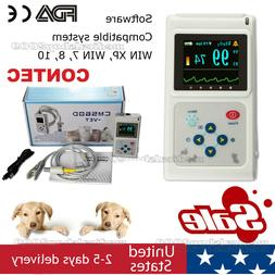 Veterinary Pulse Oximeter CMS60D-VET+Ear Tongue SpO2 Probe+P